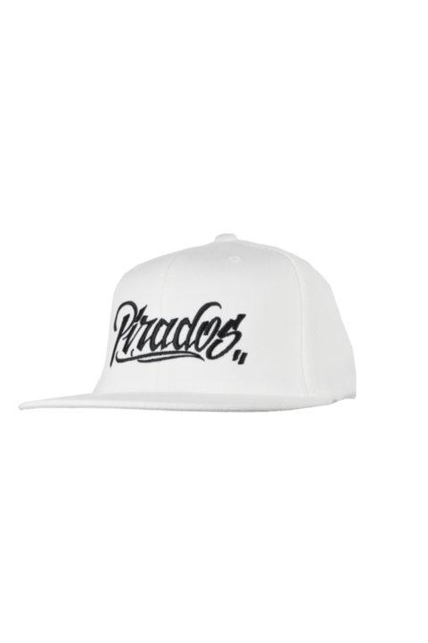 """7d6bec9c2df41 Flexfit Cap """"PIRADOS TM"""" White"""