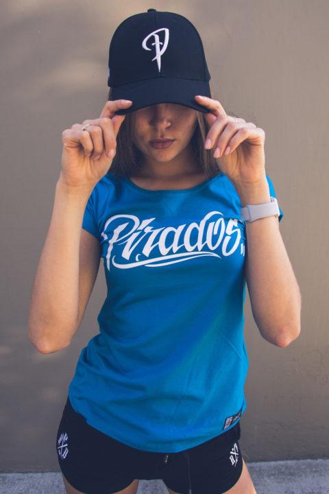 "f28f204a74c91 Ladies Shirt ""PIRADOS TM"" Turquoise"